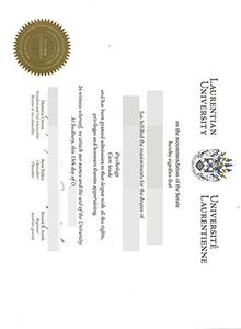 Laurentian University degree, buy fake diploma and transcript online