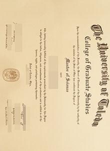 University of Toledo degre, buy fake diploma and transcript in USA