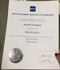 BCIT degree fake, buy BCIT diploma certificate