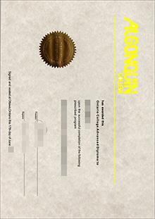 Algonquin College fake diploma supplier, buy a Algonquin College degree