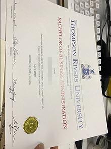 Buy Thompson Rivers University diploma, make TRU degree certificates