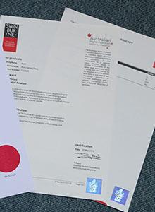 Swinburne University of Technology transcript, buy fake diploma and transcript of Swinburne University of Technology