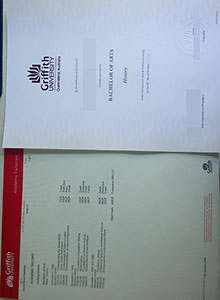 Griffith University transcript, buy fake diploma and transcript for years before