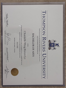 Buy fake Thompson Rivers University(TRU) Degree to Get A Better Job!