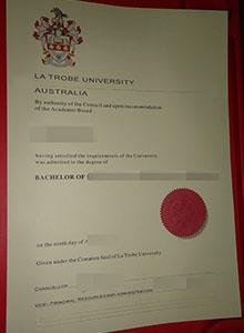 La Trobe University degree, buy fake diploma and transcript online