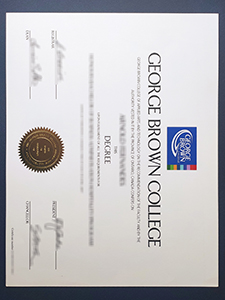 George Brown College degree, purchase phony degree certificate