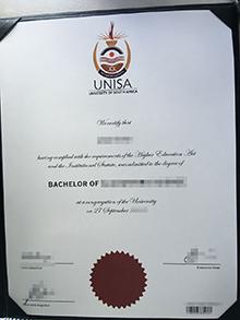 UNISA, University of South Africa fake degree