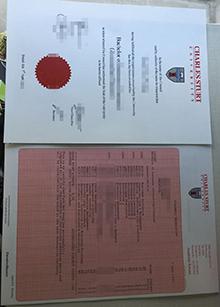 Charles Sturt University degree and transcript, buy Australia certificate