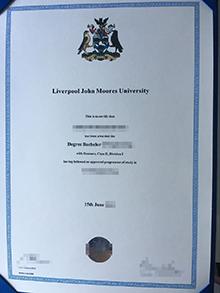 Who can make a fake Liverpool John Moores University (JMU) diploma?