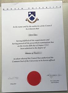 Monash University phony diploma, buy fake diploma