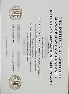 IMA degree, Institute of Management Accountants certificate, CMA certificate