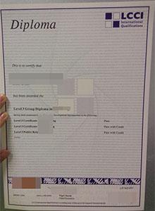 LCCI certificate, buy fake LCCI diploma online