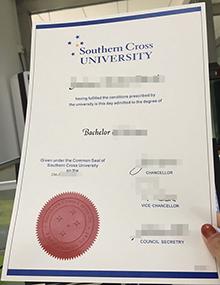 SCU diploma template, Southern Cross University degree fake Australia