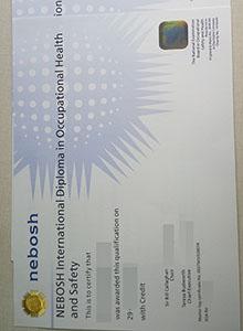NEBOSH certificate, buy fake NEBOSH diploma and transcript