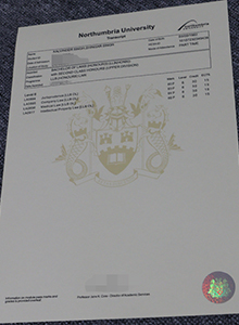 Northumbria University transcript, buy fake Northumbria University diploma and transcript online