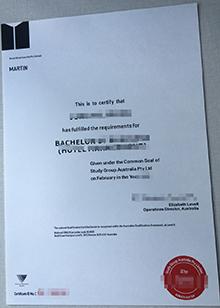 Fake Study group Australia Pty Ltd certificate online