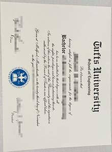 Fake Tufts University diploma & transcript, Tufts University fake degree
