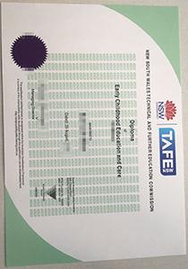 Where can I get a TAFE NSW certificate? TAFE NSW fake diploma