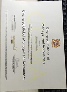 CIMA novelty certificate, buy CIMA certificate right now
