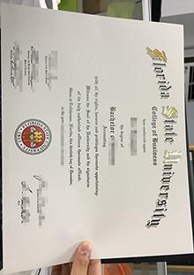 Replica Florida State University diploma, buy fake FSU degree