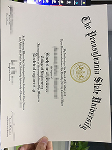 Buy a PSU diploma, Pennsylvania State University phony degree certificate