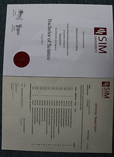 buy a degree from SIM university and buy the official transcript of SIM university