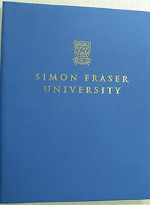 Simon Fraser University degree hard cover, buy fake diploma and transcript online