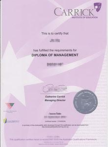 CARRICK INSTITUTE OF EDUCATION diploma,buy fake diploma and transcript online