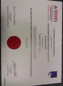 MDIS degree, Oklahoma City University, Southern Cross University fake diploma and transcript online