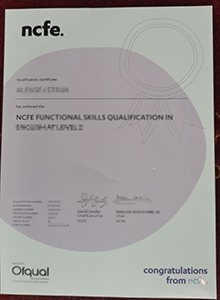How to buy fake NCFE certificate quickly?