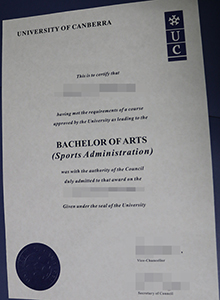 University of Canberra degree, buy fake UC diploma and transcript certificate