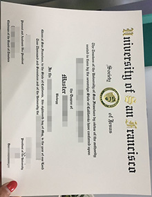 University of San Francisco diploma, buy fake USF certificate