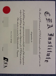 CFA Institute degree, buy fake diploma and transcript online is not a secret