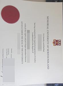 Memorial University of Newfoundland degree, buy fake diploma and transcript online