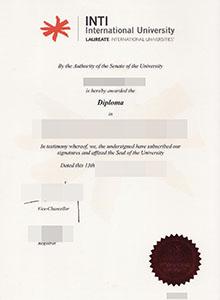 Inti University College degree, buy fake Inti diploma and transcript online