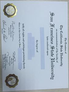 buy San Francisco State University degree, buy SFSU degree, buy fake SFSU degree