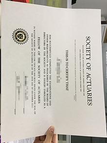 Fake Society of Actuaries diploma, buy fake SOA degree