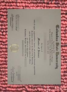 Buy fake Columbus State University Diploma Quickly!