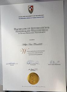 AUT novelty diploma maker, buy fake AUT degree