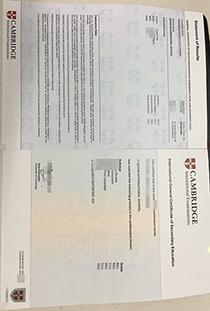 Cheap and Fast IGCSE certificate maker, buy fake Cambridge IGCSE certificate
