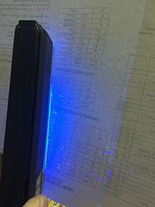 Who can make a fake transcript with fluorescent light? fluorescent light maker