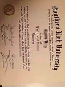 SUU fake diploma, buy a Southern Utah University fake certificate
