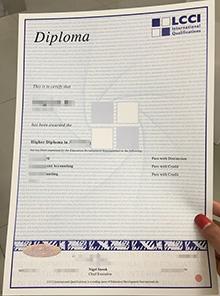 LCCI fake certificate supplier, buy a LCCI certificate free