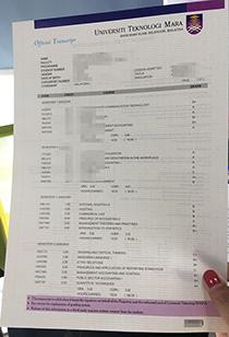UiTM official transcript replica, buy UiTM marksheet online