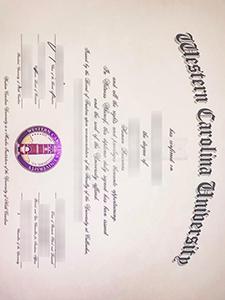 Western Carolina University (WCU) degree, purchase best fake Western Carolina University degree and certificate