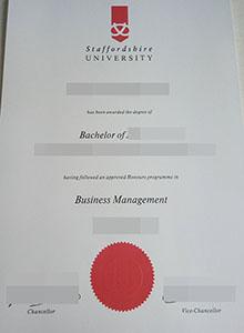 Staffordshire University degree, buy fake diploma and transcript online