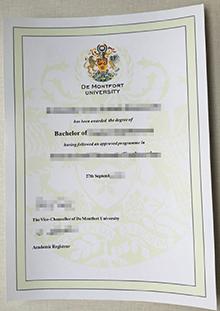 Buy a UK degree, fake DMU diploma online
