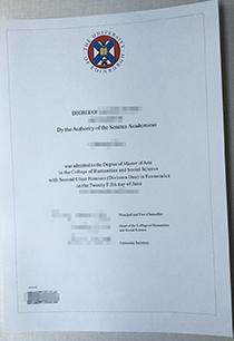 Buy a Master degree from University of Edinburgh