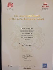 Phony ABRSM diploma, buy The Associated Board of the Royal Schools of Music degree