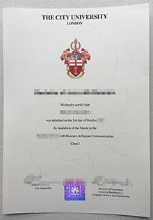 The City University London fake degree, phony City University London diploma